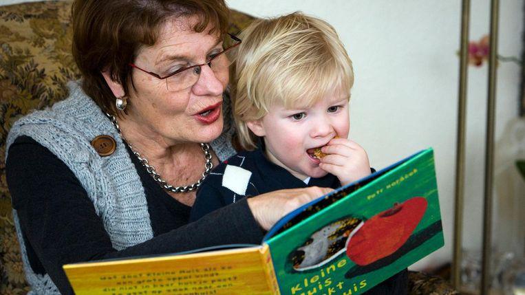 Op de laatste dag van de Kinderboekenweek kunnen kinderen hun boeken ruilen in het Centraal Station. Beeld anp