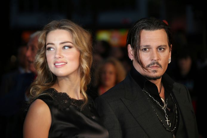 Amber Heard en Johnny Depp