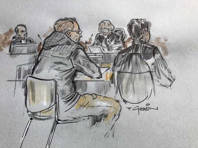 Leon K. tijdens de zitting op 30 mei: ,,Het was niet mijn bedoeling.''