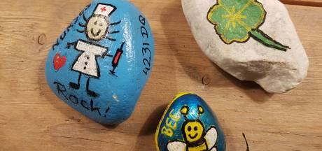 Dit zijn die gekleurde stenen die overal in Vijfheerenlanden verschijnen: 'Het is een beetje ontploft'