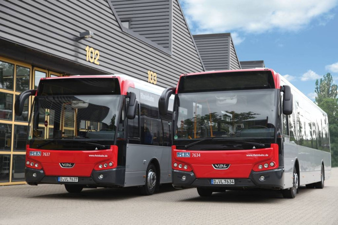VDL levert 80 bussen van het type Citea LLE aan Rheinbahn.