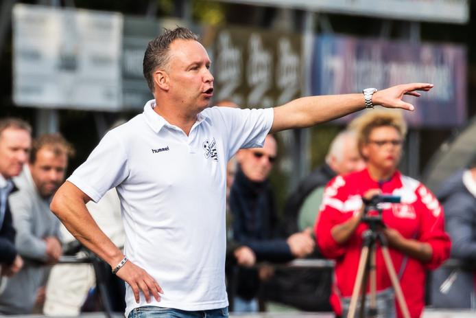 William Krabbenborg, trainer van Sportclub Neede.