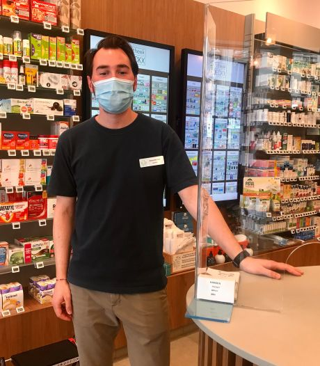 Meer mensen halen mondmasker op in apotheek
