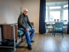 Na maanden zoeken heeft de zieke Hans Lodeweges eindelijk onderdak, in Goor