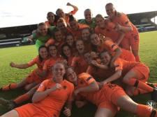 Voetbalsters Oranje onder 19 naar halve finale EK in Schotland