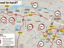 Er wordt weer iets harder gejakkerd op de Maas en Waalse wegen