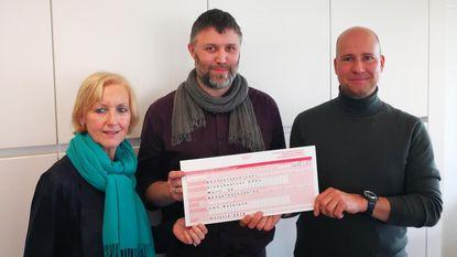 Cheque van 1.000 euro voor VOC Neteland