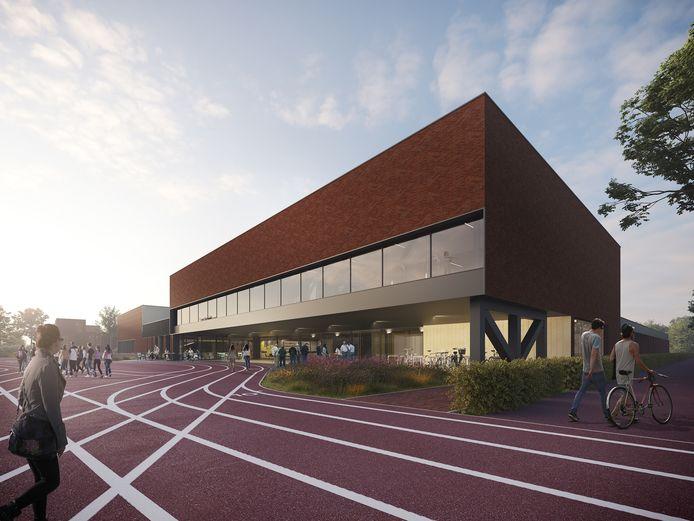 Impressie sportcomplex de Eendracht in Hellevoetsluis.