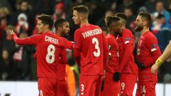LIVE. Arsenal in drie minuten van 2-0 naar 2-2, maar Frankfurt op achterstand, het kan nog voor Standard