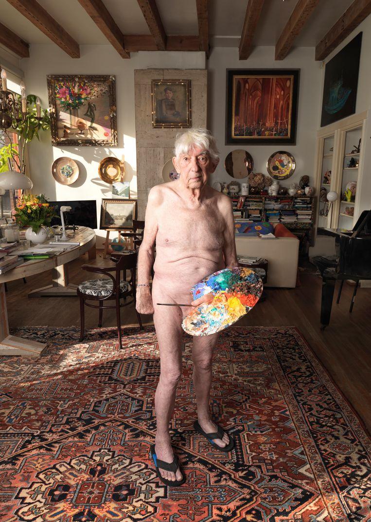 Aat Veldhoen, 2018. Collectie Venus Veldhoen.  Beeld Venus Veldhoen
