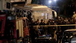 Vier doden bij bomaanslag op toeristenbus in Egypte