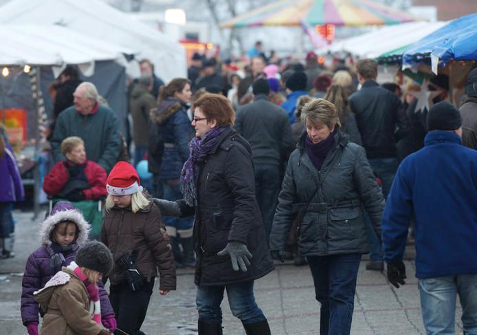 Een eerdere editie van de kerstmarkt in Vroomshoop