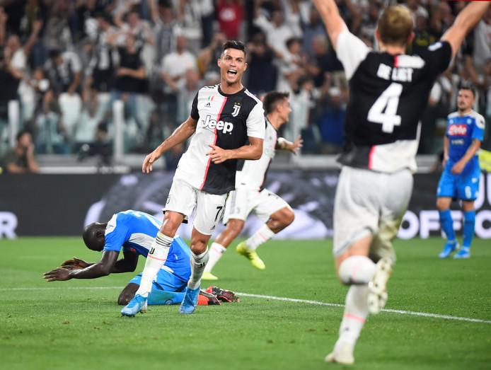 Cristiano Ronaldo en Matthijs de Ligt zijn de grootverdieners in de Serie A.
