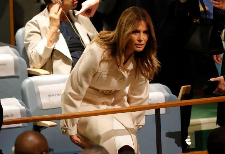 First lady Melania.