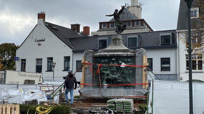 De restauratie van de Madelon is gestart