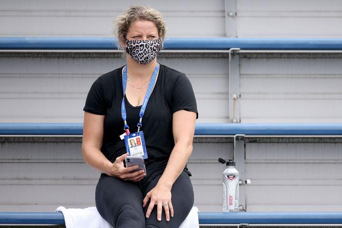 Clijsters moest afgelopen week geblesseerd toekijken.