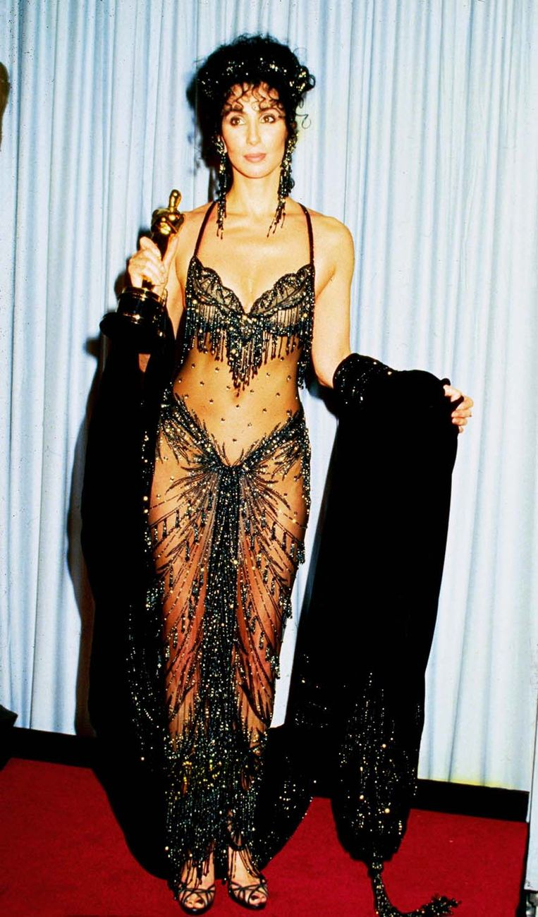 Cher in Bob Mackie (1988) The 15 most memorable dresses from the history of the Oscars