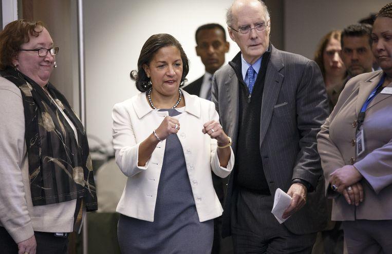 Susan Rice, nationaal veiligheidsadviseur, maakt zich klaar om de nieuwe strategie uit te leggen in Washington.