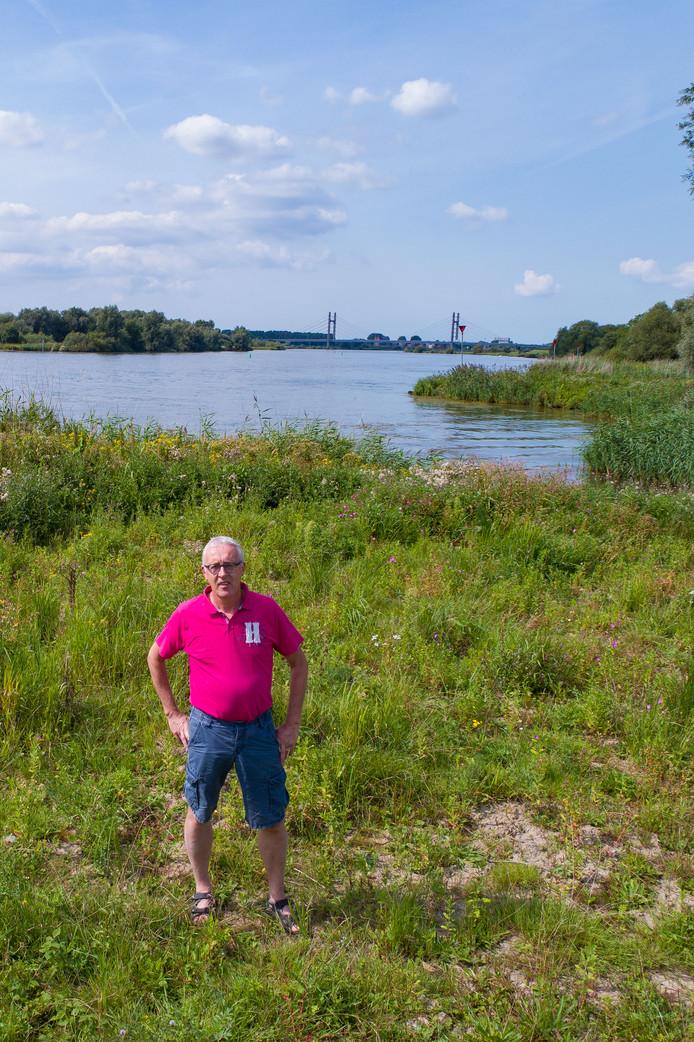 Albert Boeve vertelde vorig jaar in de Stentor over natuurgebied Scherenwelle, in de uiterwaarden van de IJssel. Over rust en ruimte die inwoners van Wilsum zo waarderen.
