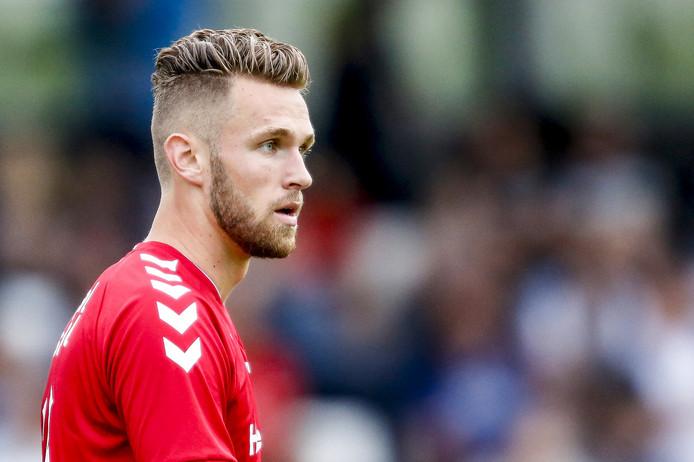 Leon de Kogel in actie voor FC Utrecht