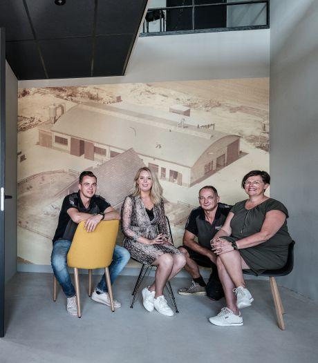 Hoe God en naoberschap familie Veenhuis door de verwoestende brand in hun timmerfabriek sleepte