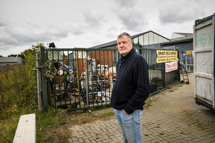 Ondernemer Jos Groenewoud weet niets van de plannen van zijn toekomstige buur aan de Binnenhaven in Enschede.