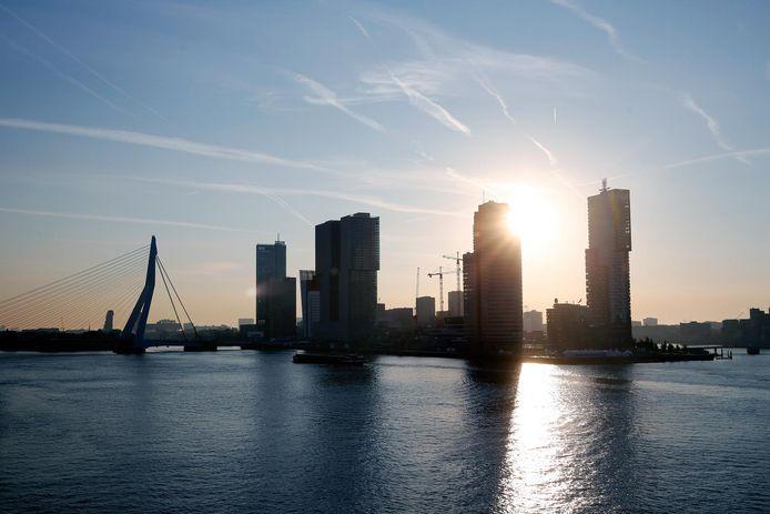 Kop van Zuid in Rotterdam