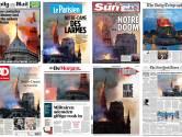 Media over inferno: Frankrijk, Europa en de wereld in het hart geraakt door 'Notre Drame'