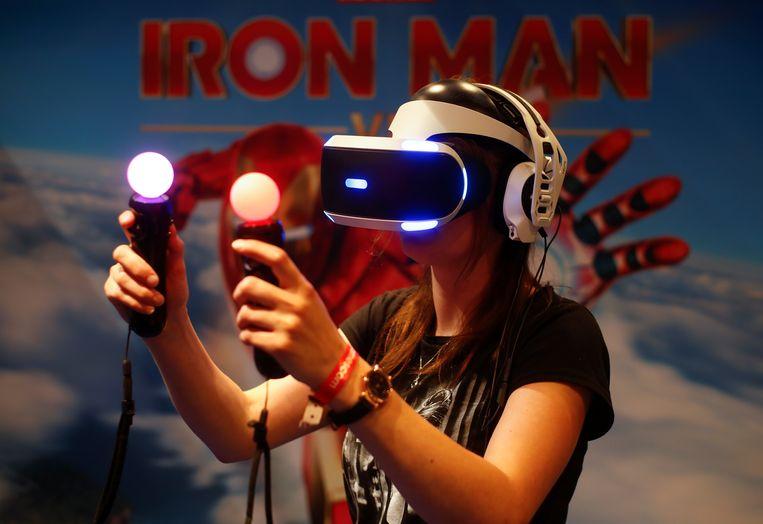 De PlayStation VR-bril.