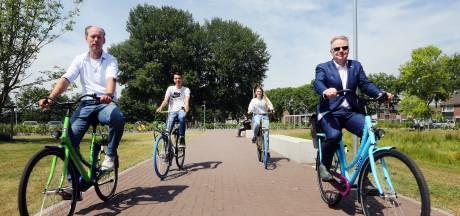 Met unieke Curio-fiets peddelen tussen vestigingen: 'Het zit er strak op'