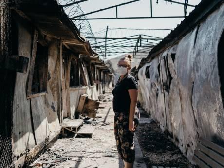 Debora uit Bruinisse in uitgebrand Moria: 'Het kamp was een tikkende tijdbom'