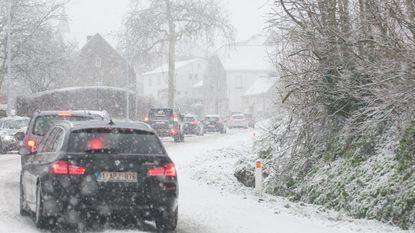 Vlaamse Ardennen in de sneeuw: idyllisch behalve in de auto