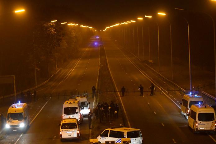 De politie is al heel de week in verhoogde staat van paraatheid in bepaalde delen van Wallonië.