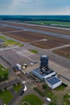Beloning voor zuinig vliegen op Lelystad Airport