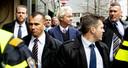 Geert Wilders bezocht zaterdag Heerlen om te flyeren voor de Provinciale Statenverkiezingen op 20 maart