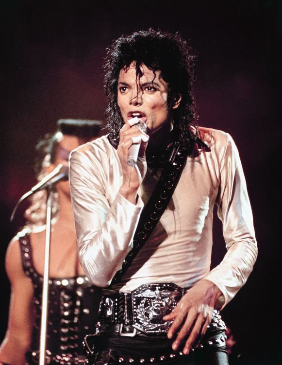 Michael Jackson in de jaren negentig.