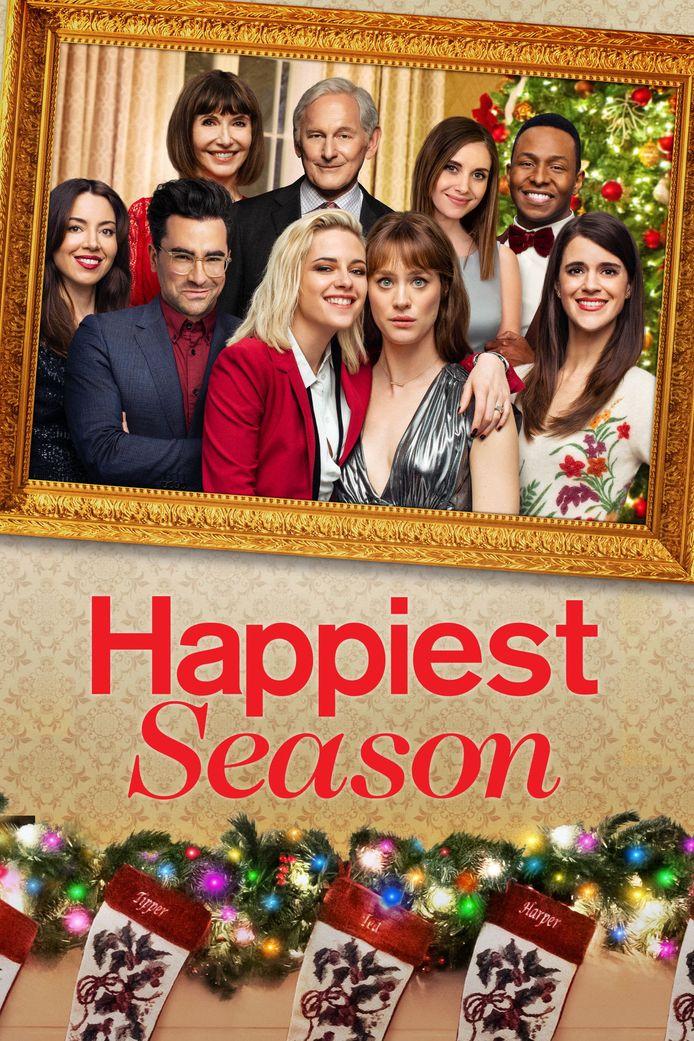 """L'affiche de """"Happiest Season""""."""