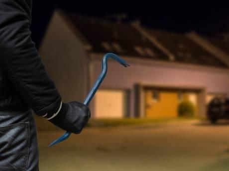 Inbrekers op heterdaad betrapt in Mill, getuige slaat achterruit in