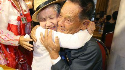 Na 68 jaar stilte zegt omhelzing alles