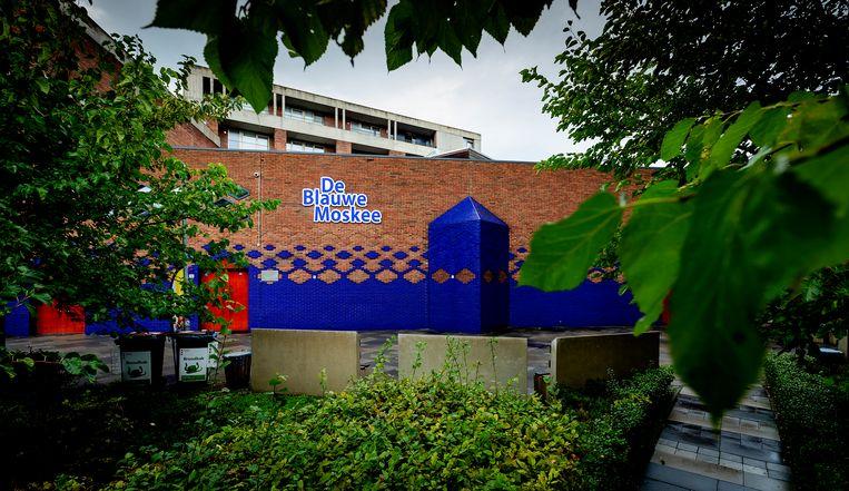 De Blauwe Moskee in Amsterdam. Beeld ANP