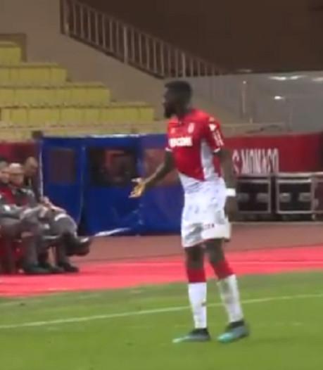 Scène cocasse à Monaco: Bakayoko se trompe de numéro de maillot et pense sortir