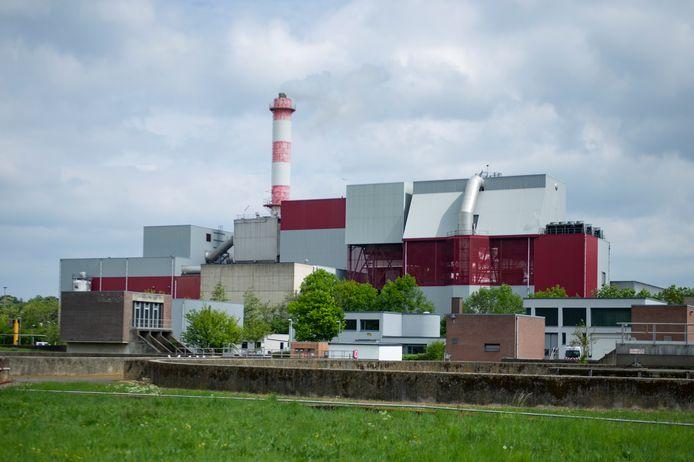 De huidige afvaloven van ISVAG, in dienst sedert eind jaren zeventig.