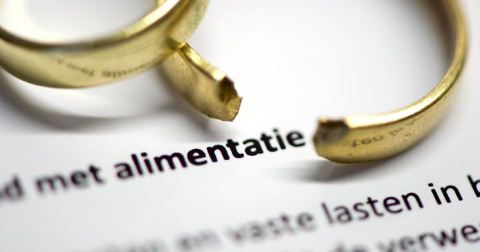 De wetgeving over partneralimentatie is hard aan vernieuwing toe.
