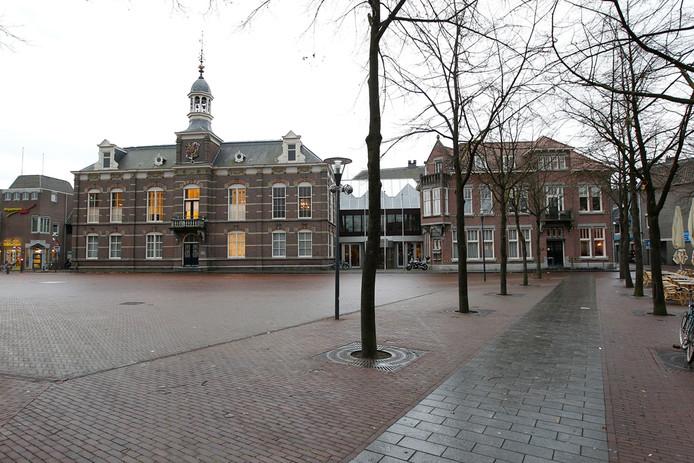 Het gemeentehuis van Deurne