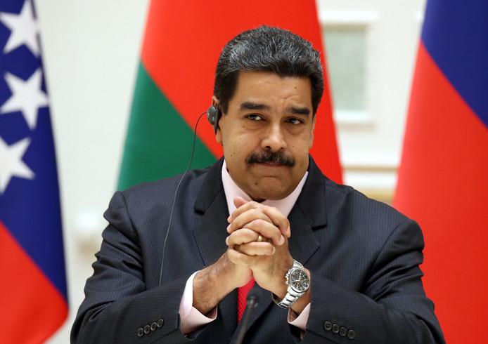 Venezolaanse president Nicolas Maduro.