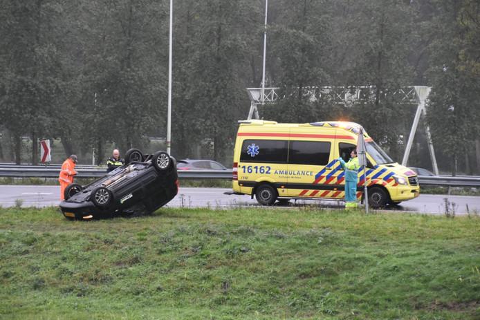Ongeval A12 thv Reeuwijk