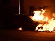 Autobrand in Westerhaar, brandstichting niet uitgesloten