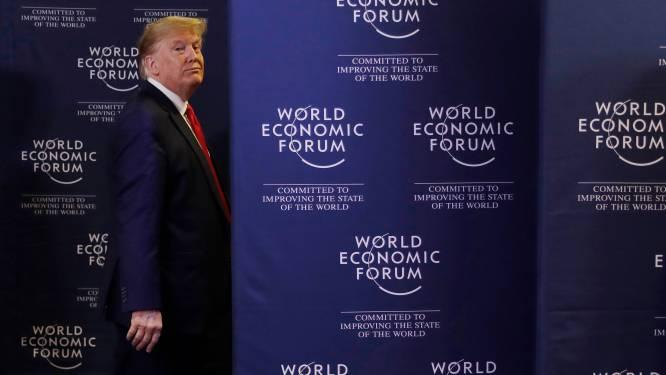 """""""Trump niet meer welkom op Wereld Economisch Forum in Davos"""""""