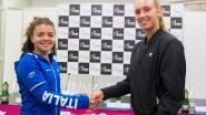 Elise Mertens opent tegen Italiaanse Jasmine Paolini in Fed Cup