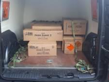 117 kg illegaal vuurwerk ontdekt in opslagruimte in Harmelen